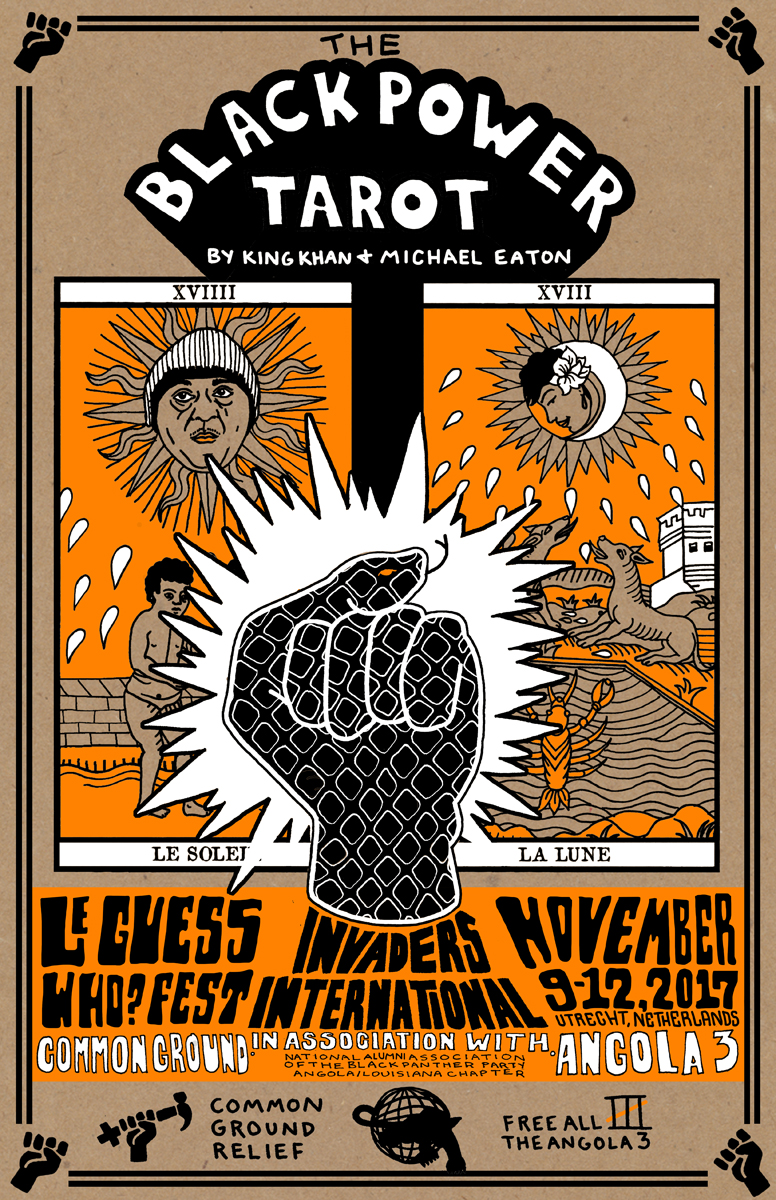 Black Power Tarot Exhibition by King Khan & Michael Eaton