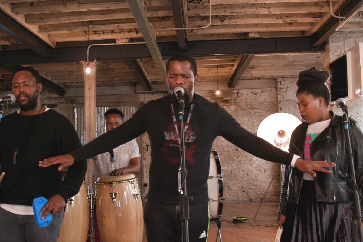 Watch Soweto's BCUC present a fusionist 'Africangungungu' session for Red Bull Music