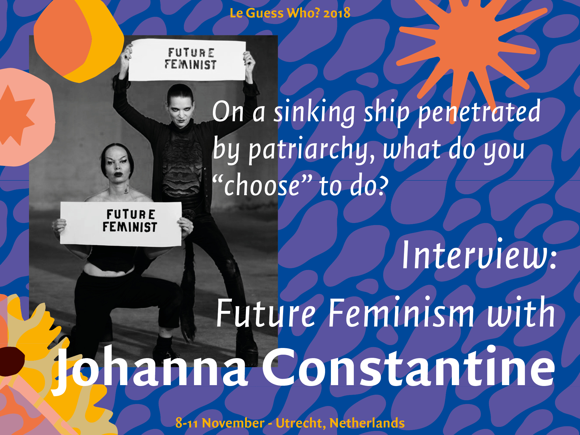 Interview: Future Feminism with Johanna Constantine