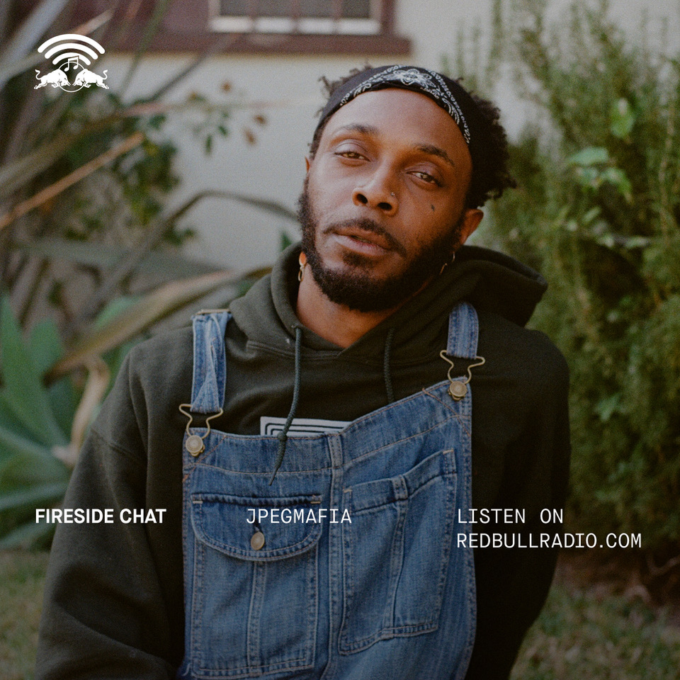 Listen to Red Bull Radio's Fireside Chat with JPEGMAFIA, recorded at LGW18