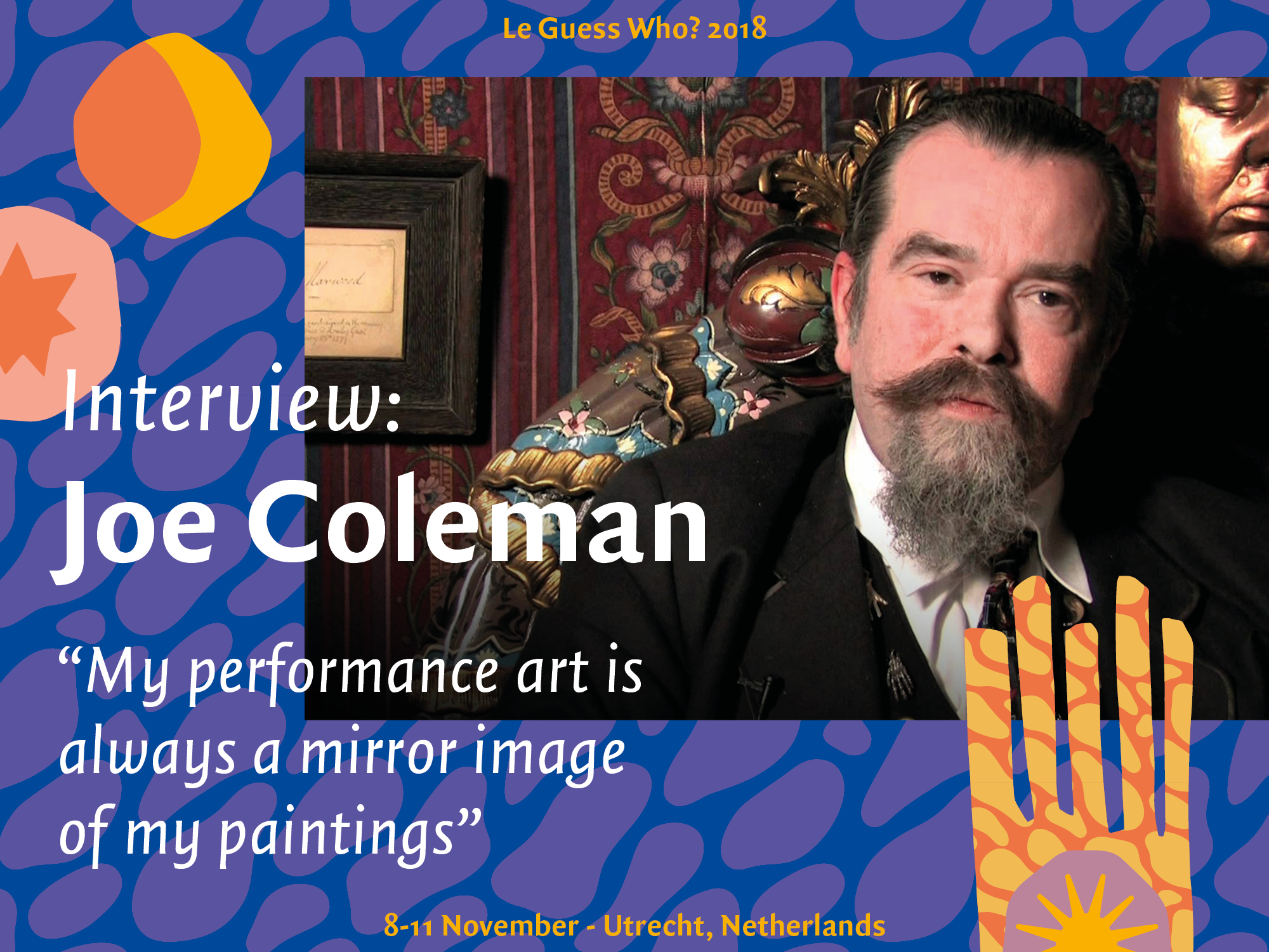"Interview: Joe Coleman: ""My performance art is always a mirror image of my paintings"""