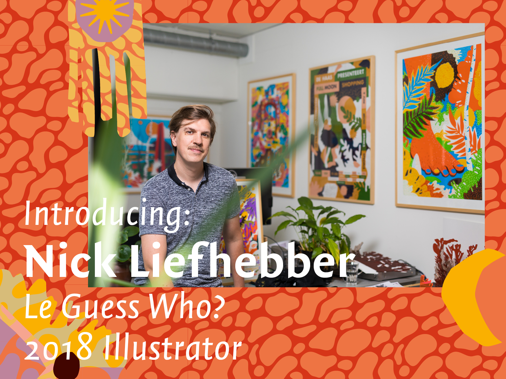 Introducing: Nick Liefhebber, the Le Guess Who? 2018 Illustrator