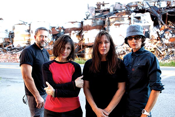 The Breeders share new video for 'Spacewoman' via Tidal