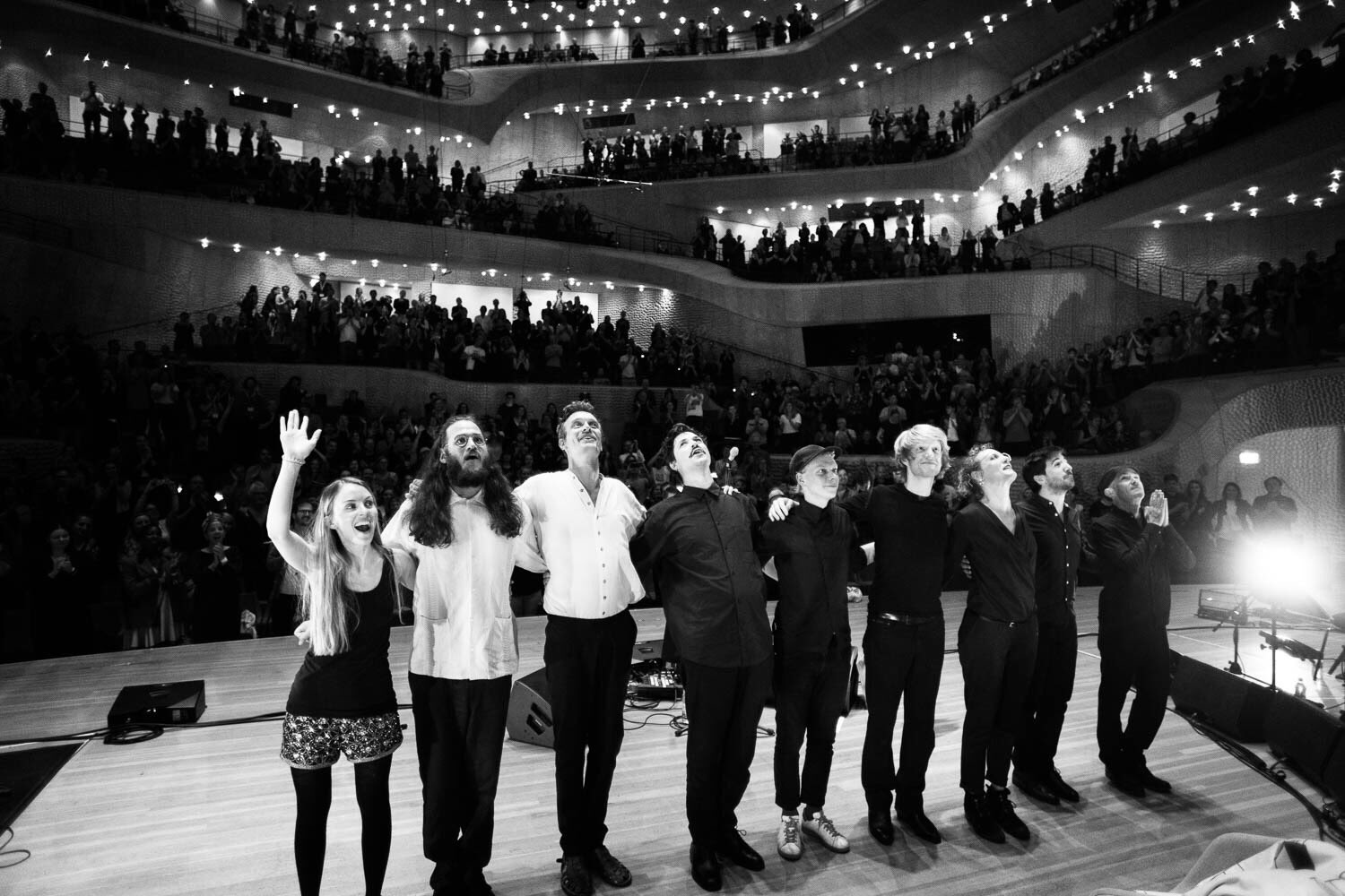 Watch: Efterklang debut new album 'Altid Sammen' live at the iconic Elbphilharmonie concert hall