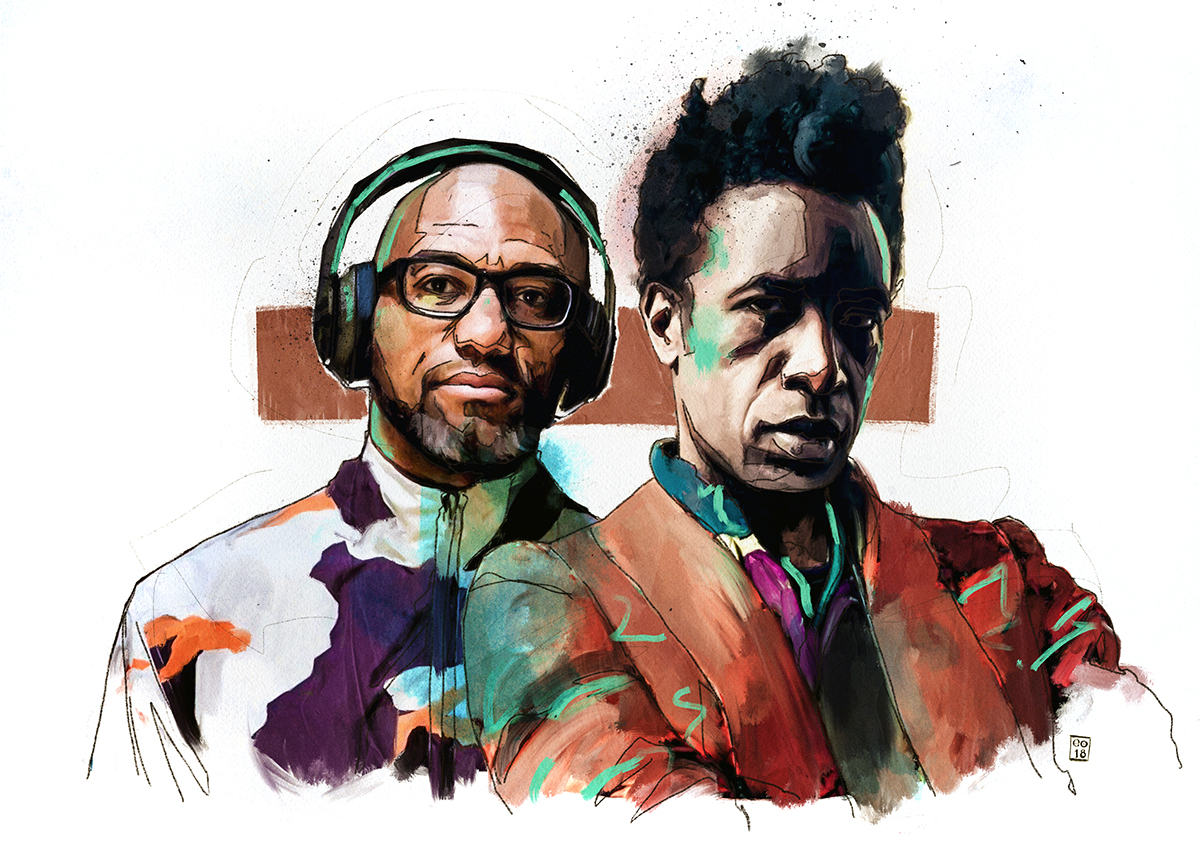 Stream/download: The Wire shares Saul Williams & King Britt's 'Unanimous Goldmine' performance at LGW18