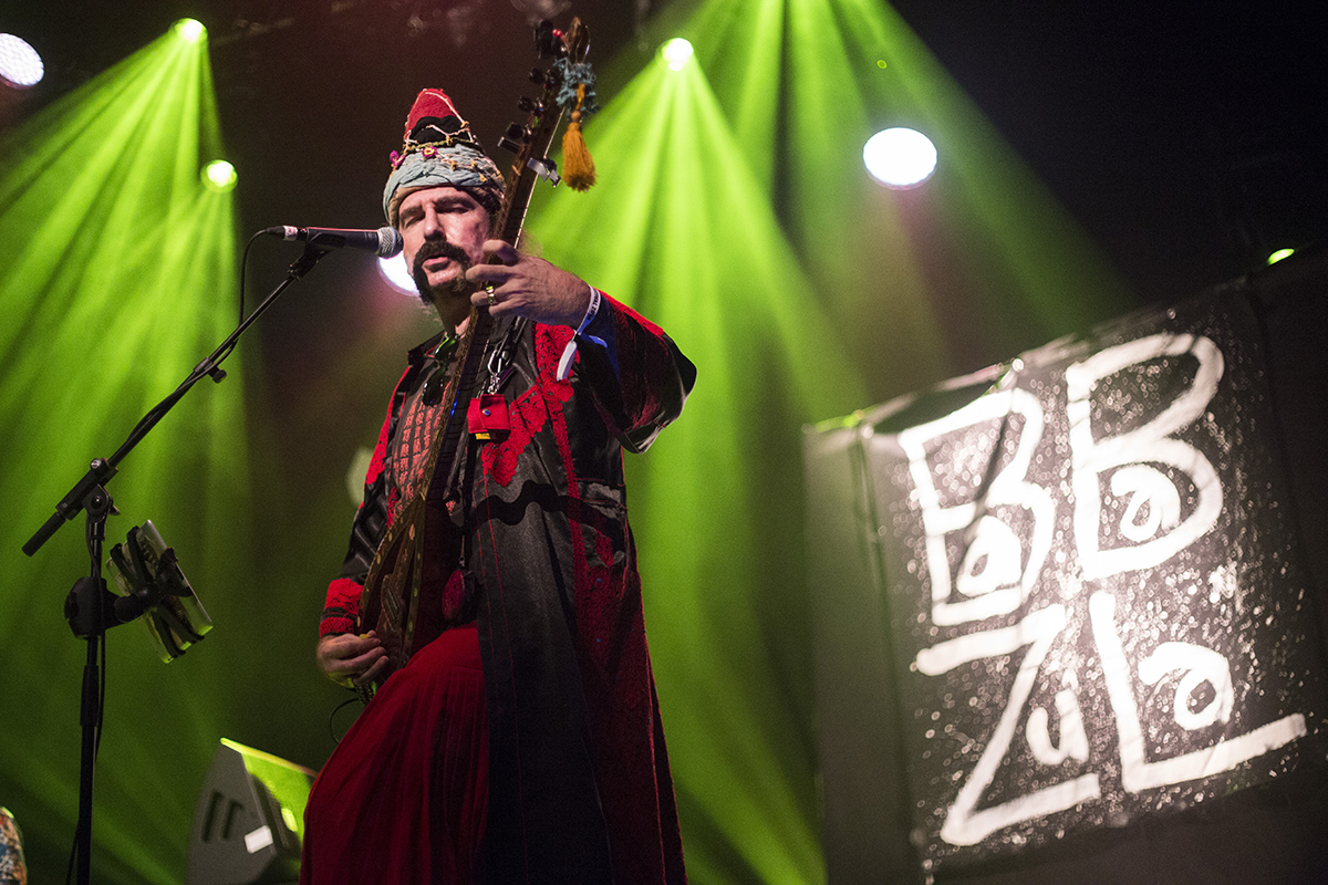 Listen to Turkish psych group Baba Zula live at LGW14, ahead of their return to Utrecht