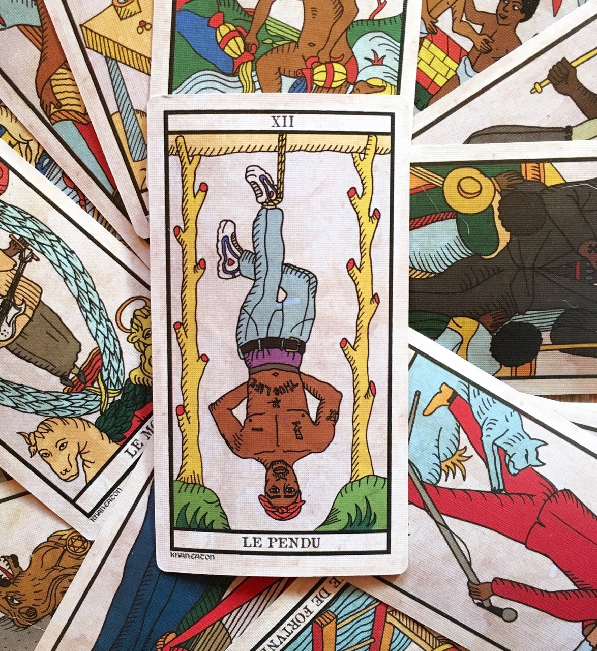 King Khan & Michael Eaton present The Black Power Tarot at Le Guess Who? 2017