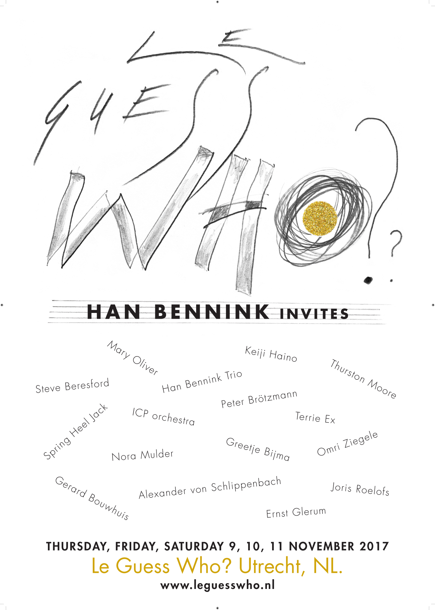 Explore Han Bennink's curated program for Le Guess Who? 2017