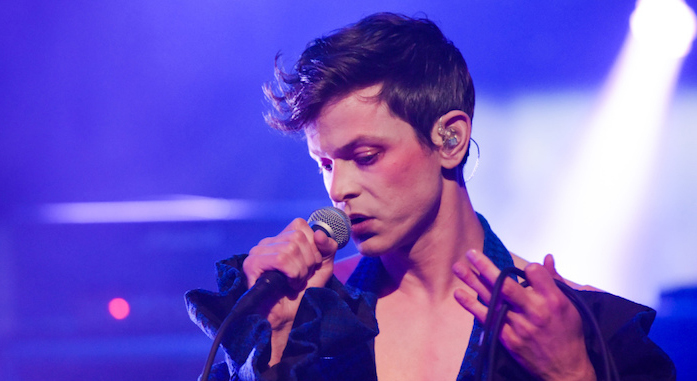 Watch Perfume Genius perform 'Wreath' on Jimmy Kimmel Live