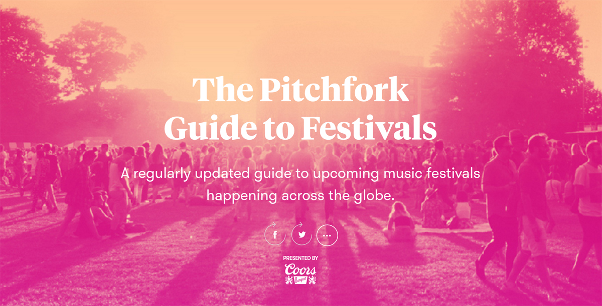 Le Guess Who? included in Pitchfork Festival Guide