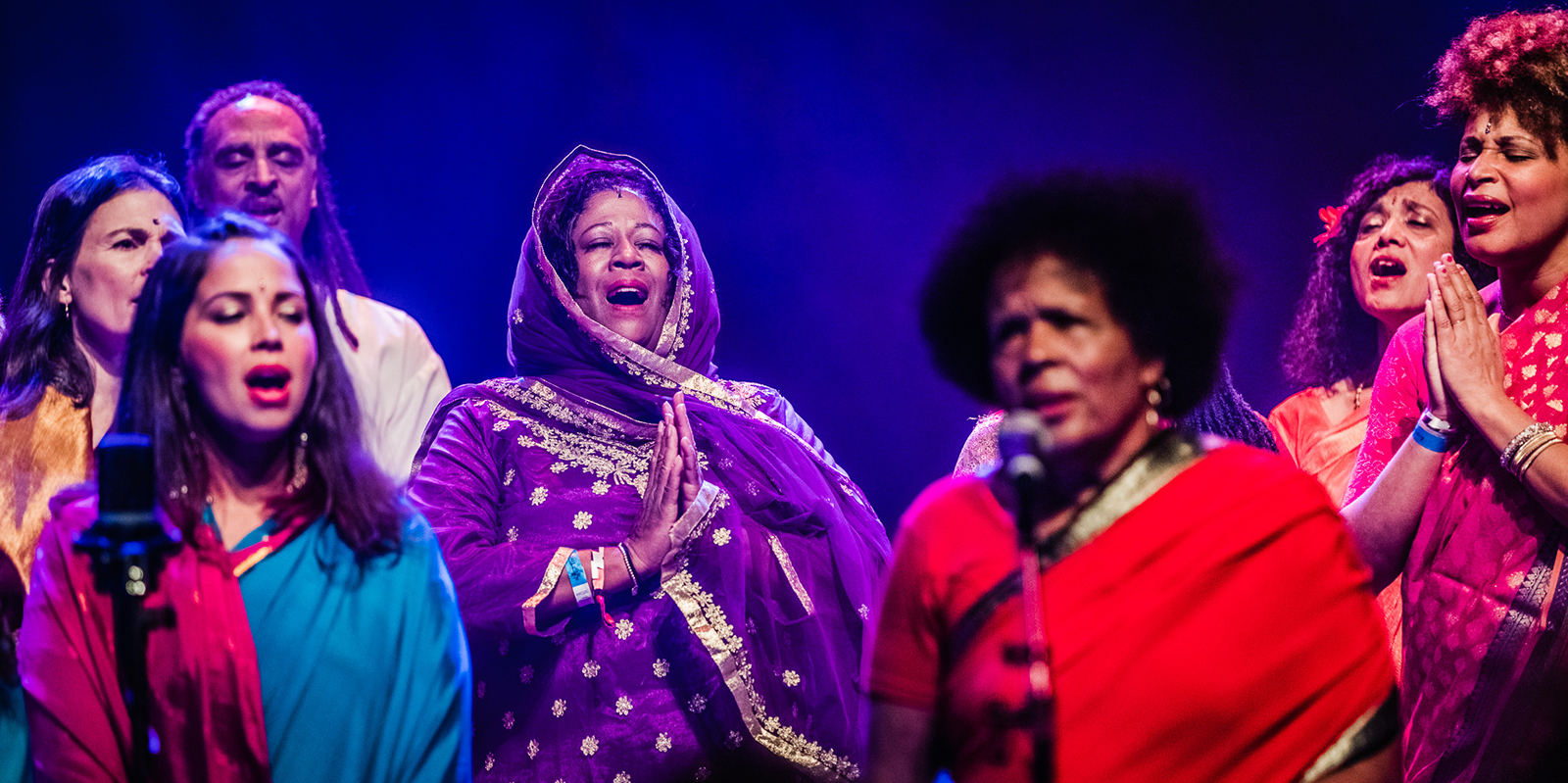 Listen to the Sai Anantam Ashram Singers perform the music of Alice Coltrane live at LGW17