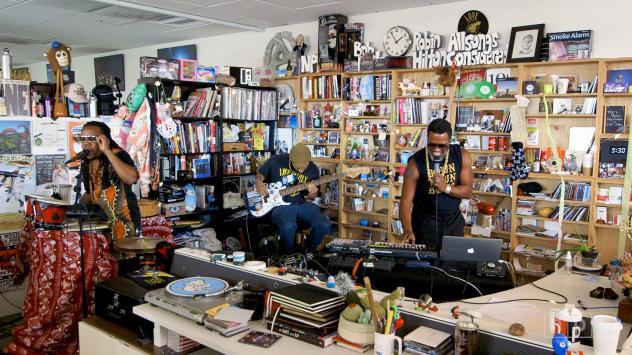 Watch Shabazz Palaces' Tiny Desk Concert for NPR