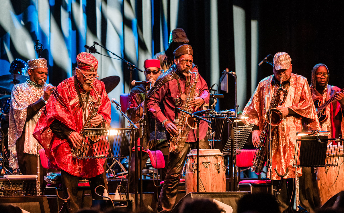 Premiering Sun Ra Arkestra's LGW17 recordings, spanning decades of the Sun Ra legacy
