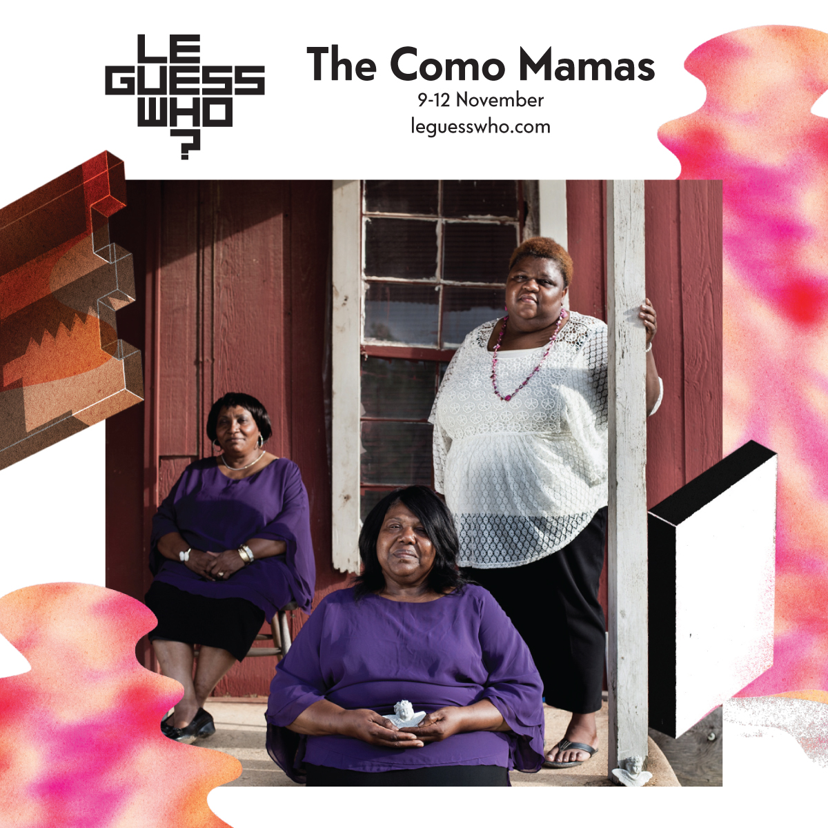 The Como Mamas: gospel trinity that can move and save you, lift you up & pull you through
