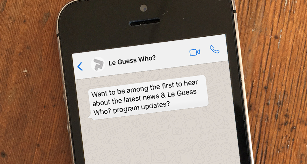 Le Guess Who? WhatsApp: be among the first to hear about festival news